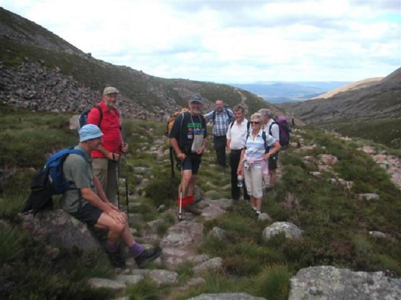 Club Walks - Lairig Ghru Walk July 2006