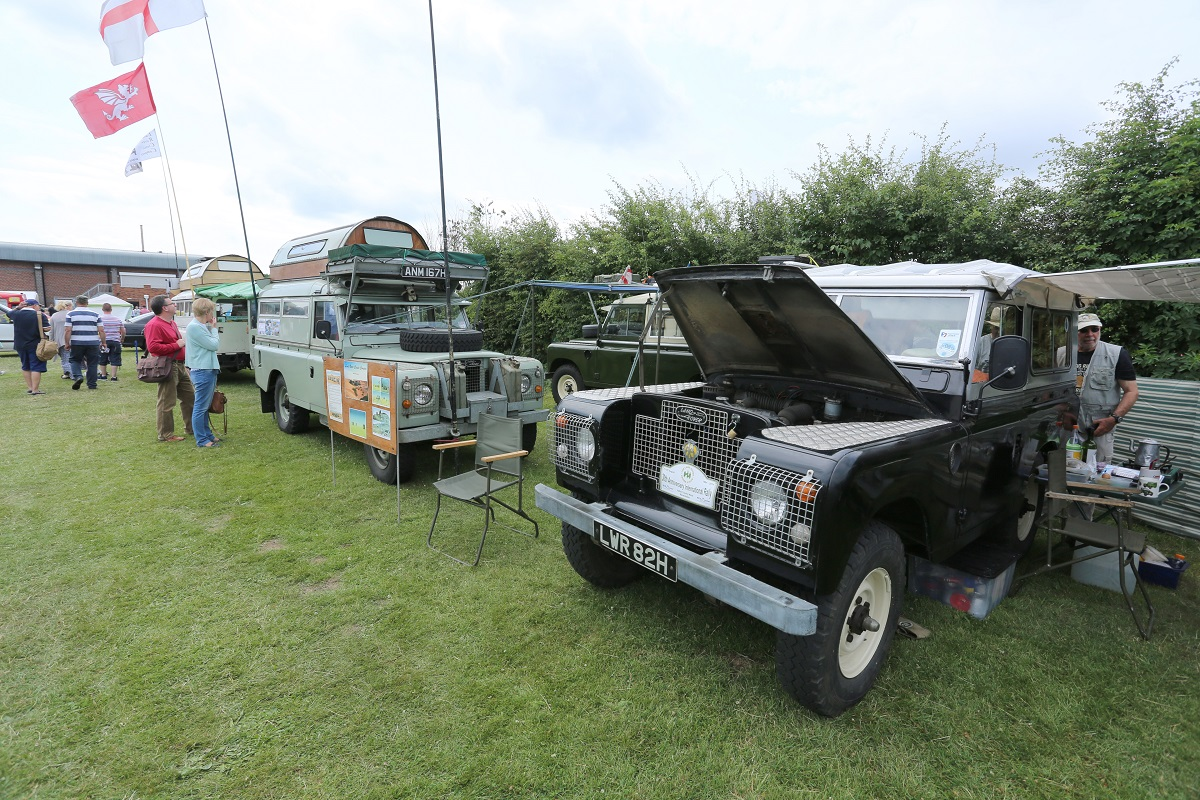 Doncaster Classic Car and Bike Show 2017 - Land Rovers 2