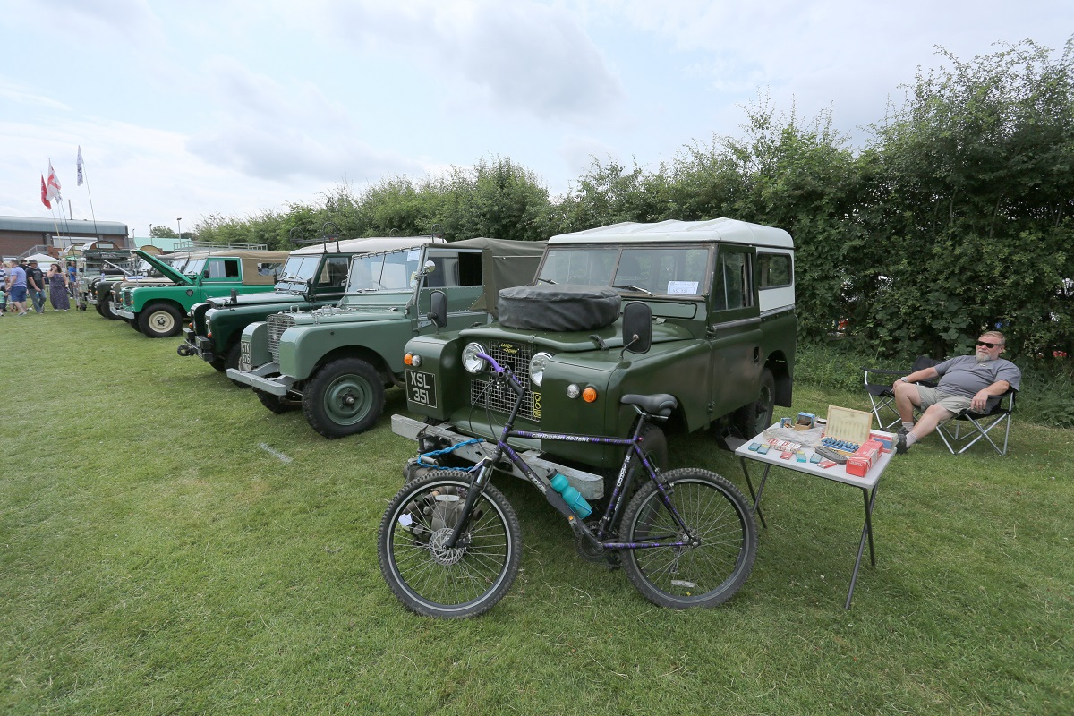 Doncaster Classic Car and Bike Show 2017 - Land Rovers