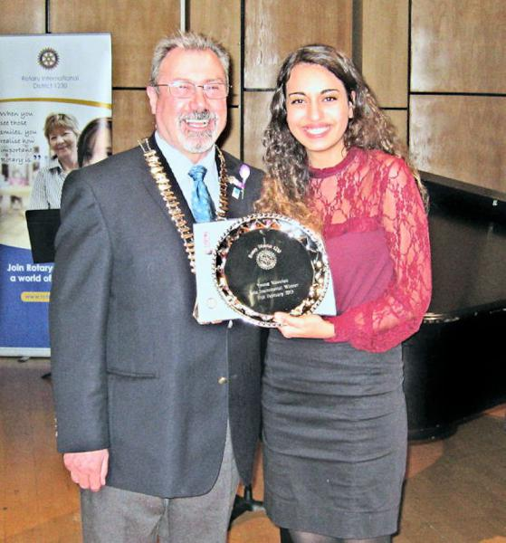 Local Community Activities and Charities - Laura Ayoub was second overall out of 6500 entrants for the RIBI Young Musician of the Year Competition in 2013.