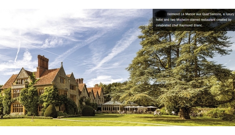 Speaker meeting ~ From Le Manoir to The Ritz by Amber Francis - Le Manoir