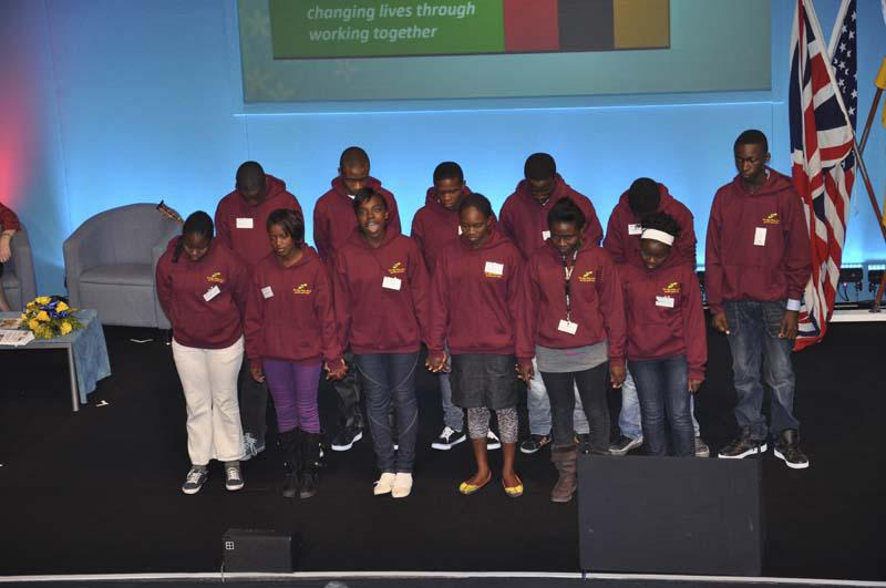 The Zambia Project goes from strength to stength - The Libale Interactors sing a traditional song