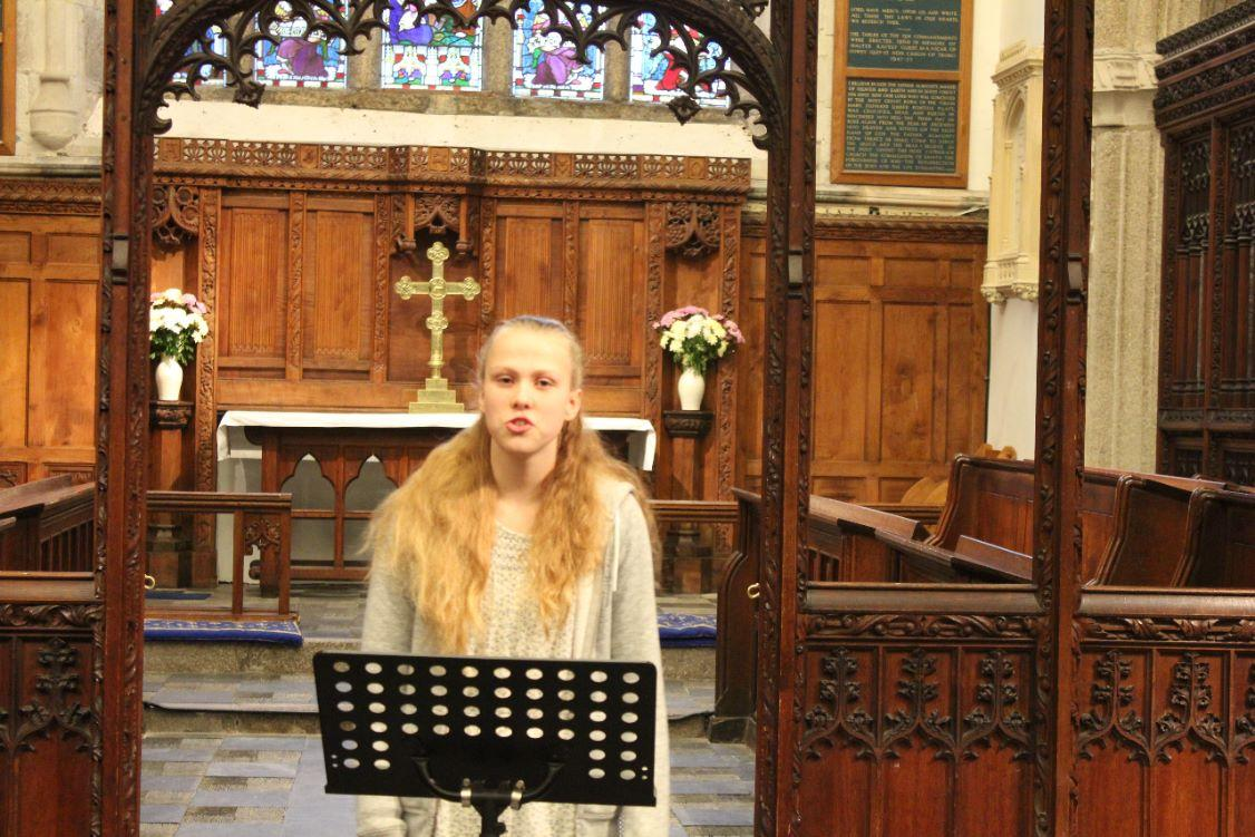 District Young Musicians Final - Libby Brown, Torrington School, vocal