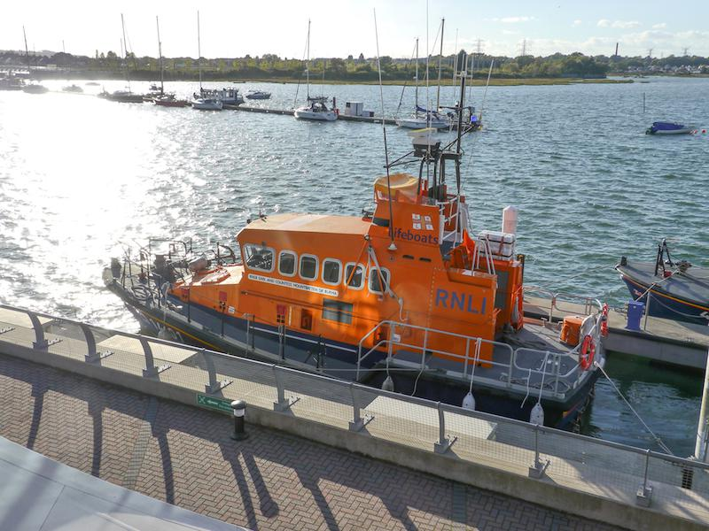 Presidents Weekend at RNLI Poole 3 - 5 October - Lifeboat 1