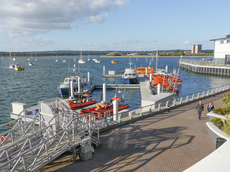Presidents Weekend at RNLI Poole 3 - 5 October - Lifeboats and RIBS