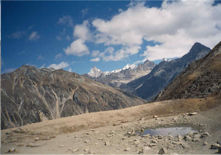 Nepal Trek -  Another view of the valley