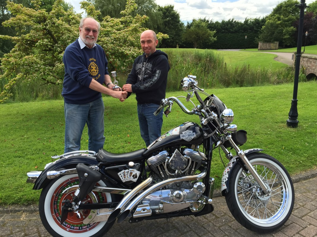 Photos From 2016 / 2017 Rotary Year - Lincoln Bike Fest 2016 Concours Winner