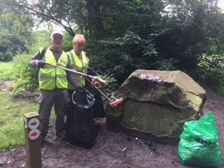 Litter Pick in Princess Anne Park -