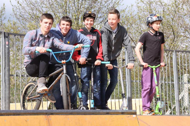 Wells Skate Board Park Re-Opening Ceremony - Local-Users