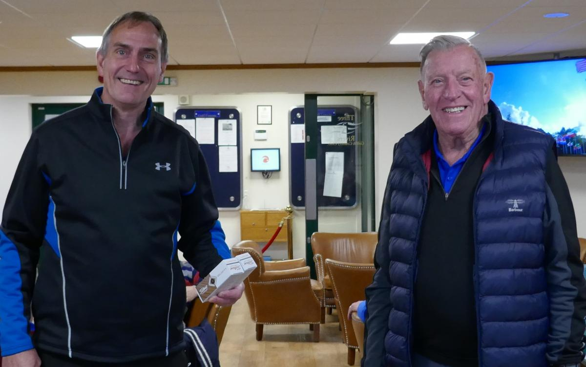 Club Golf Champinship - A Shackleton win in Antarctic Conditions - Winner of The Longest Drive was Rob Kitchin