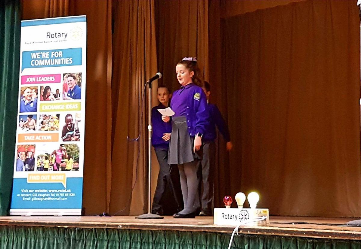 Junior Youth Speaks Competition 2018 - Longleaze 2018 Chloe Peaker