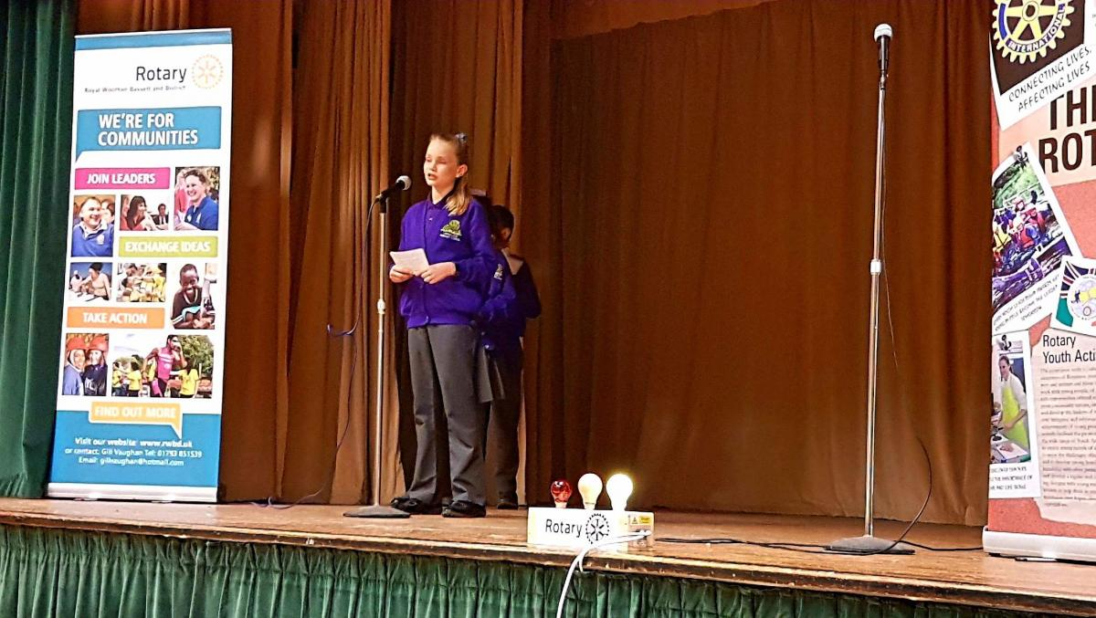 Junior Youth Speaks Competition 2018 - Longleaze 2018 Ellie Manders
