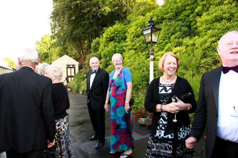 PRESIDENT'S NIGHT WITH A DIFFERENCE -