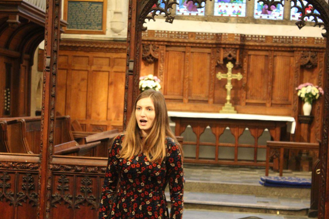 District Young Musicians Final - Lucy Wallis, Truro School, vocal
