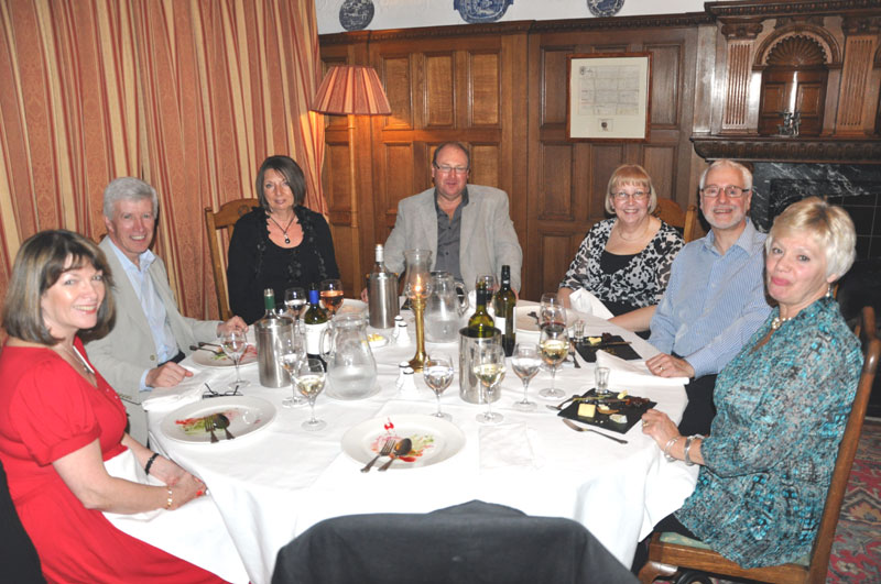 Whitby Weekend - Luddites at friday evening meal