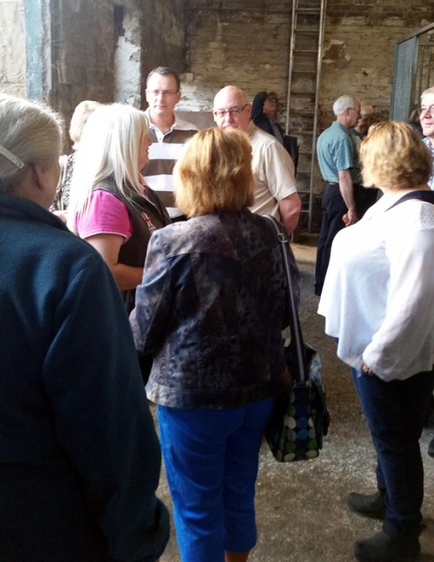Outside Visit - Equine Pathways - Rotarians gathering