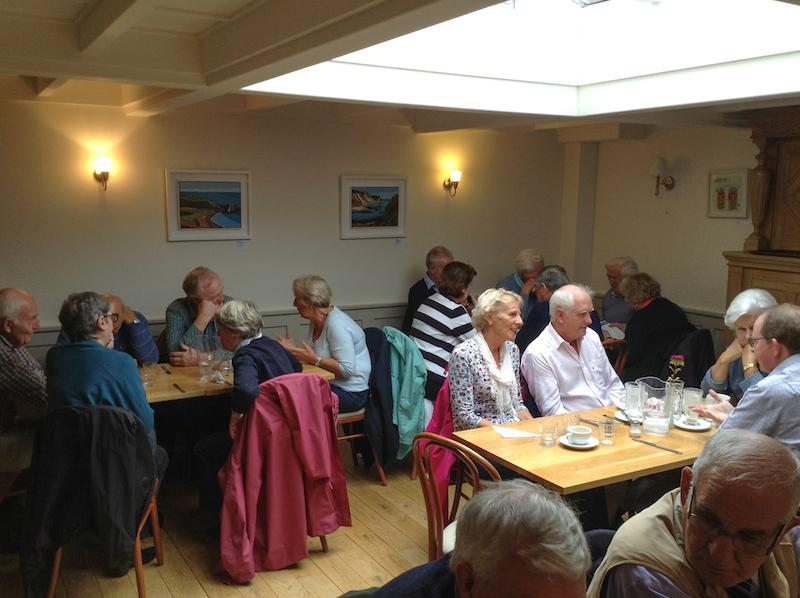 Presidents Weekend at RNLI Poole 3 - 5 October - Lunch at Compton Acres