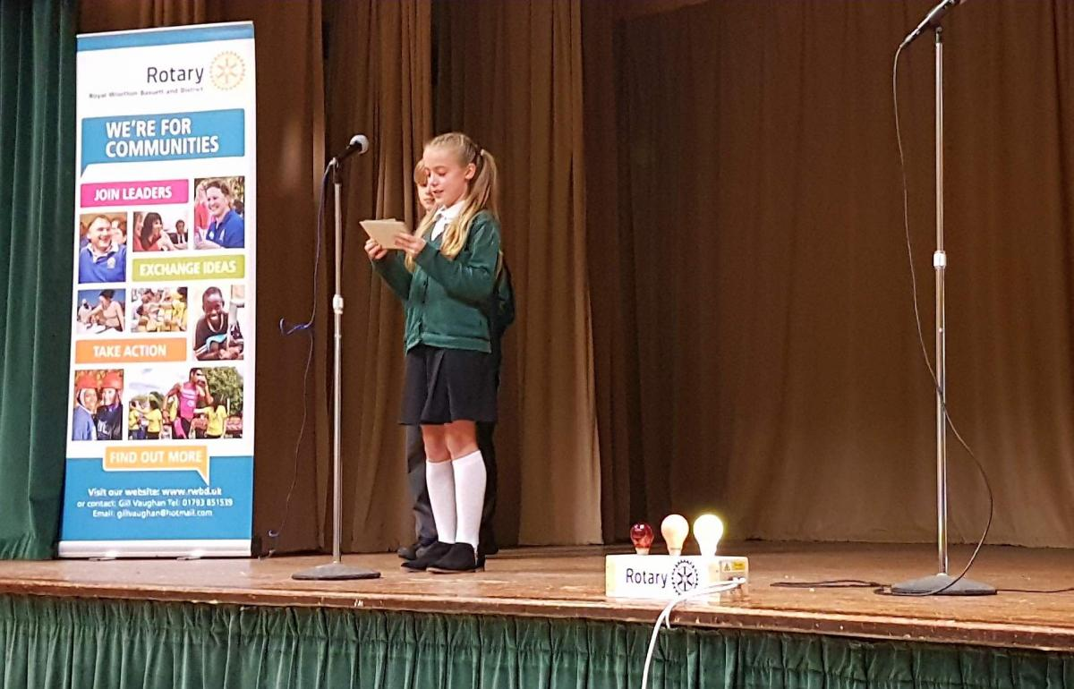 Junior Youth Speaks Competition 2018 - Lydiard 2018 Sophie Buss