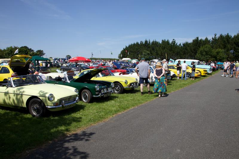 Wheels 2013 - Report and Slide Show - MGs