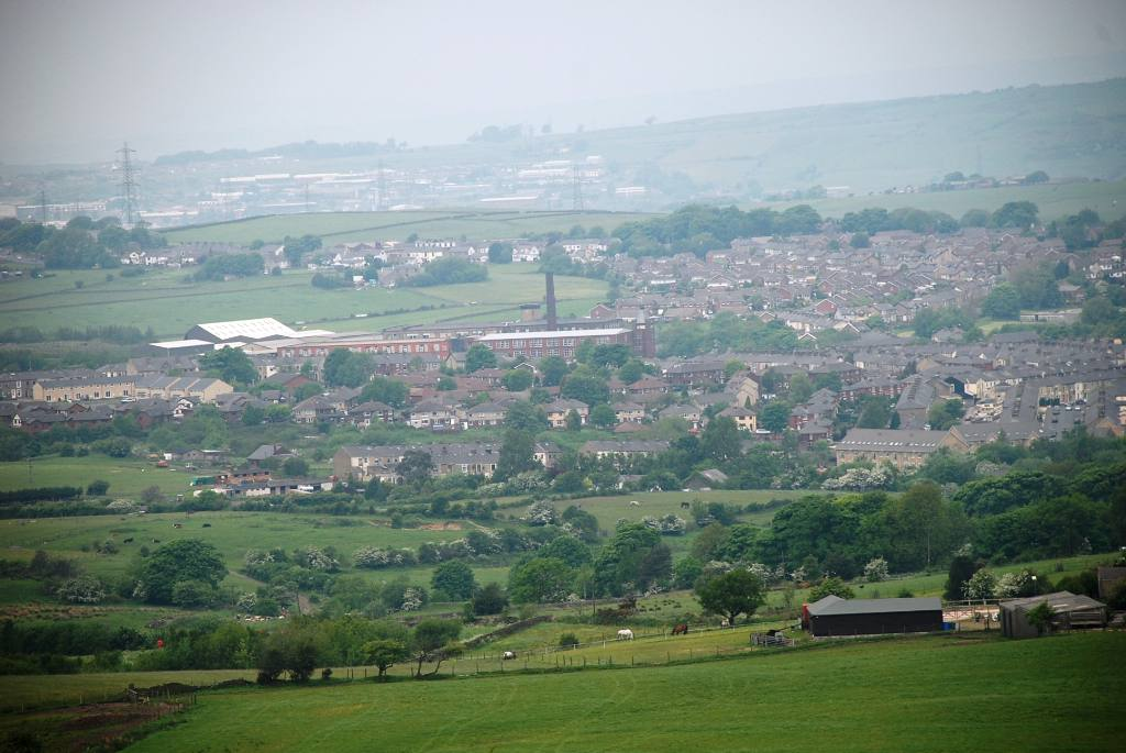Views around Church and Oswaldtwistle - Ossy from the hilltops