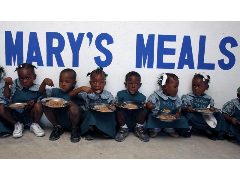 THE ROTARY FOUNDATION - ROTARY'S OWN CHARITY - Support for Mary's Meals to provide school meals for children in Africa and Asia.