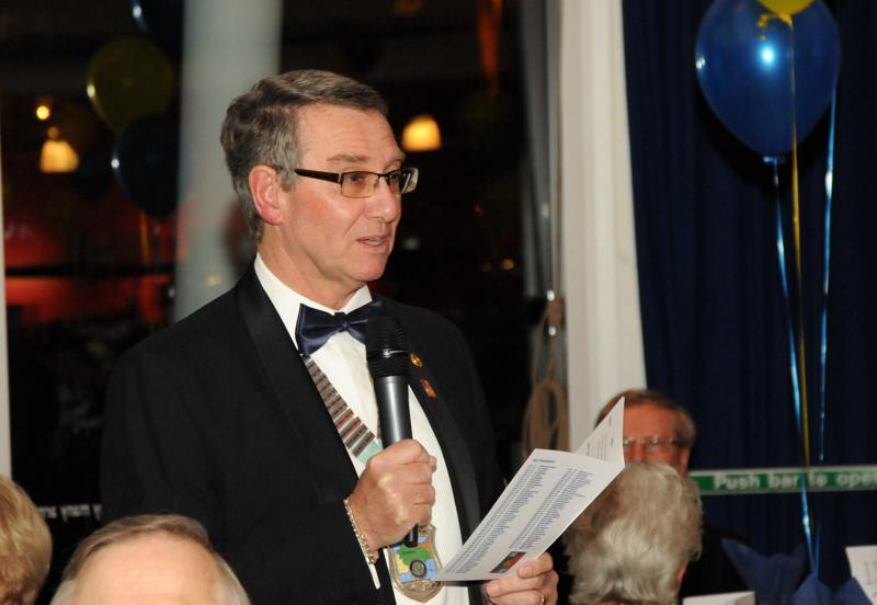 President's Night 29th March 2014 - District Governor Barry Rendal-Jones