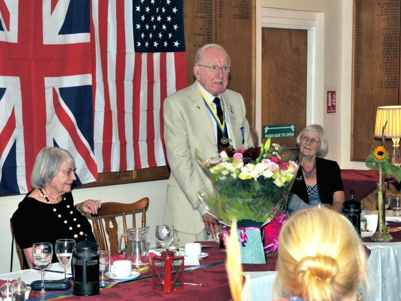 60 Years in Rotary Keith Powell PHF - MPT 4349