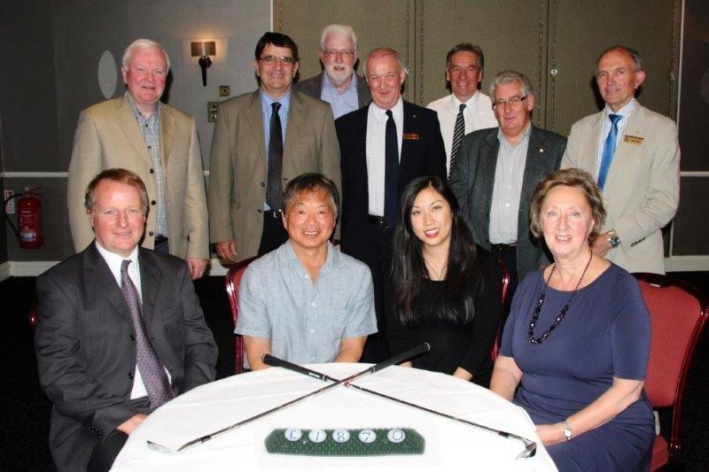 2015 AM AM Golf Day - Cheque presentation at our Club meeting on 22 September 2015