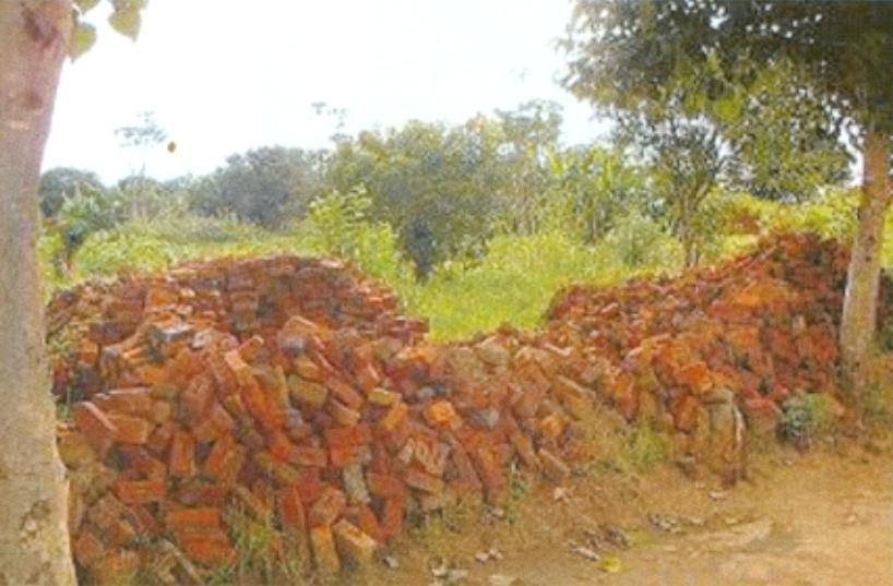 Our Malawi Grain Mill and Store - Some of 18,000 bricks donated by the community towards Mill construction