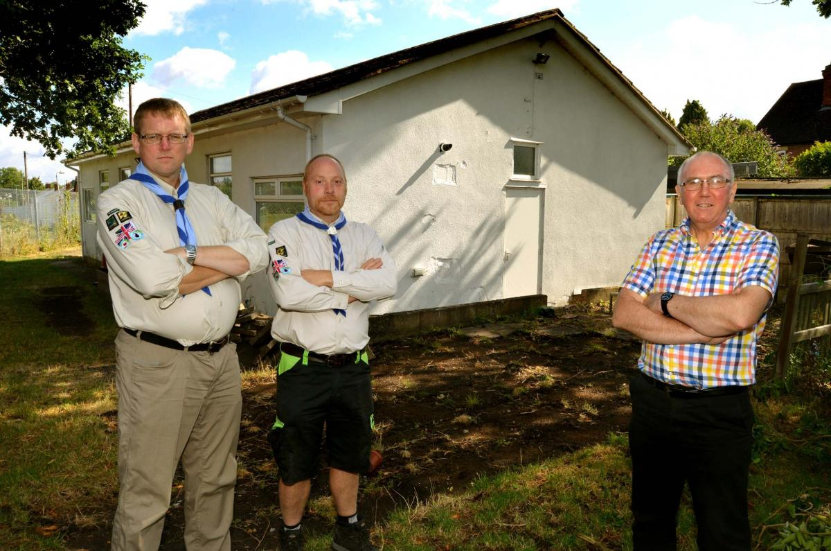 Malvern Rotary Club helps the Scouts -