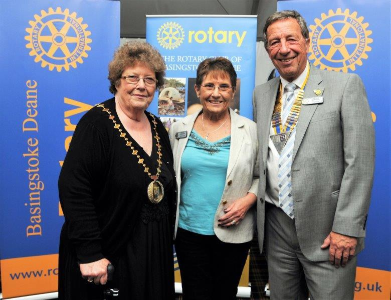 Club Meeting - Charities Night - Congrats from Mayor and Pres Paul