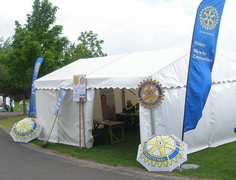 Royal Highland Show Wristbands - There were marquees at both the East and West gates