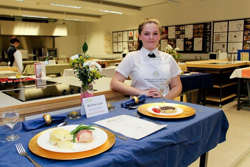 Young Chef Competition - Martha Lloyd - Display