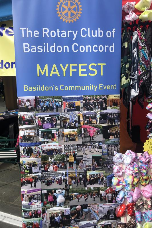 Basildon Concord Mayfest 2018 - A Proud Banner