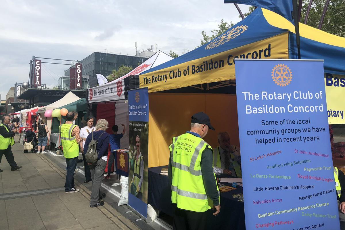 Basildon Concord Mayfest 2018 - Soem of the Stalls