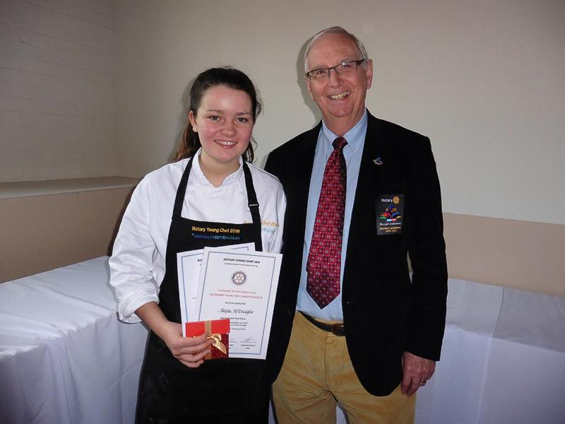 Rotary Young Chef 2015-16 - District Final Feb 2016 - from Rotary District 1110 Governor Tony Summers