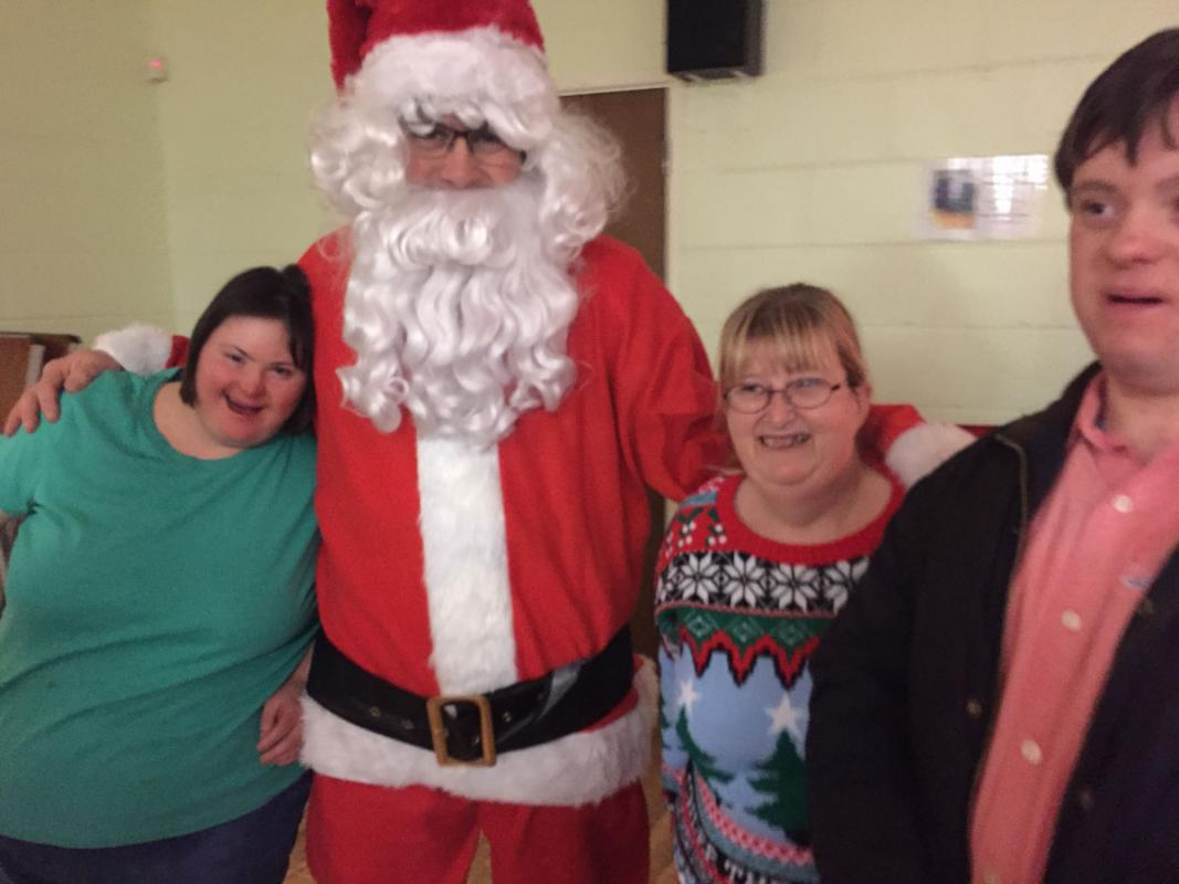 Mencap Christmas Party -