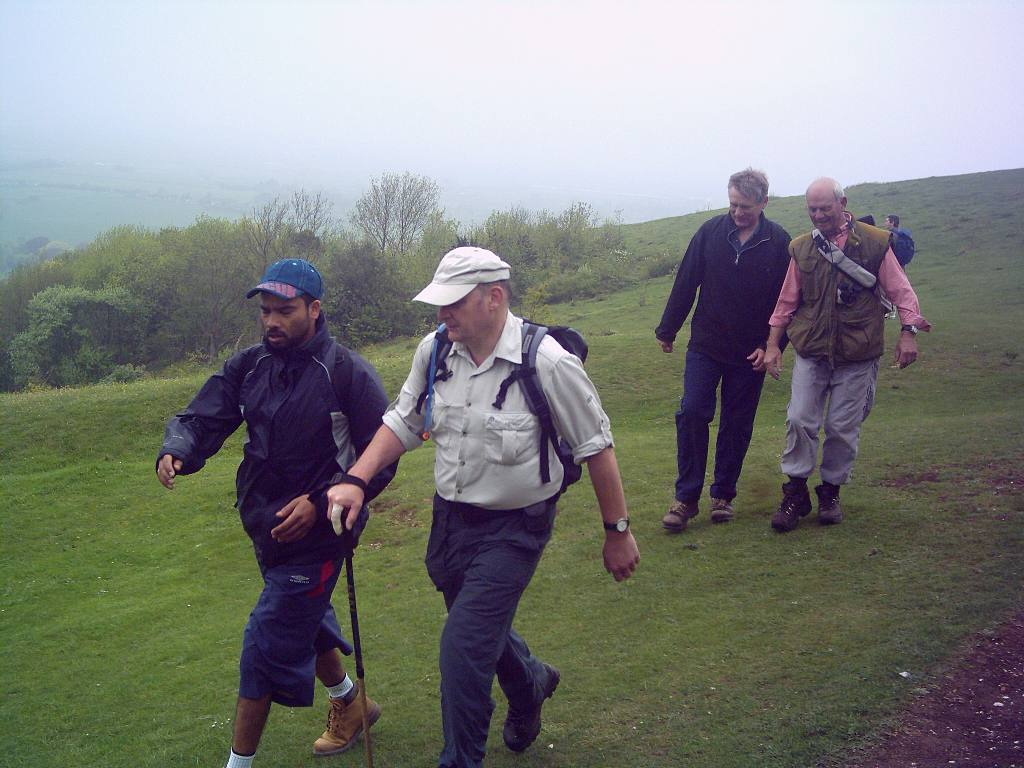 Training 3 peaks Challenge May '06 - Moving downhill