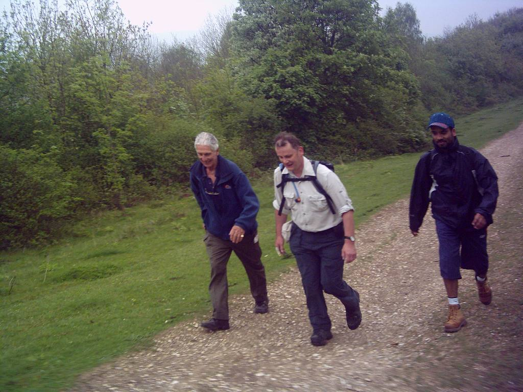 Training 3 peaks Challenge May '06 - Moving uphill