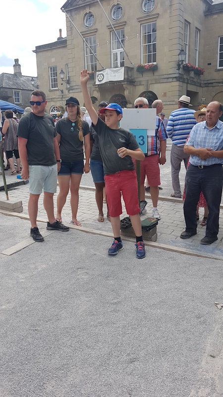 Wells Boules Tournament July 2018 - Michael - Previous Boul winner