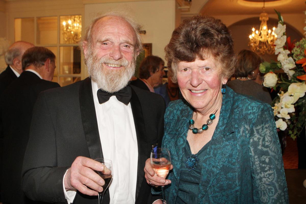 Cheltenham North Charter Anniversary Dinner 26th April 2012 - Mike and Wendy Sanger- Davies