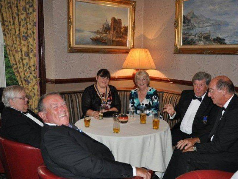 Millom Club Charter Dinner 2014 - Barrow and Furness Peninsula Clubs.