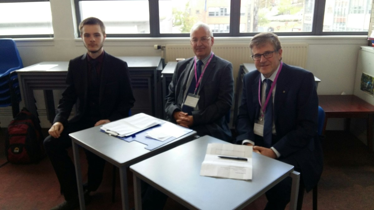 Photos From 2016 / 2017 Rotary Year - Mock Interviews Lincoln College