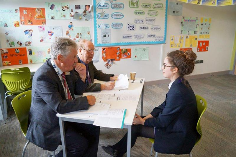 Frome College Mock Interviews 2016 - Student Interviews with Rotarians acting as prospective employers