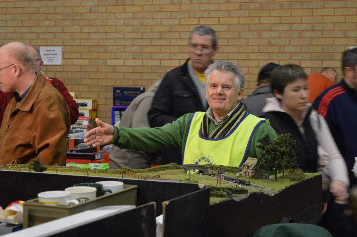 Events organised by Rotary Monmouth - Model railway