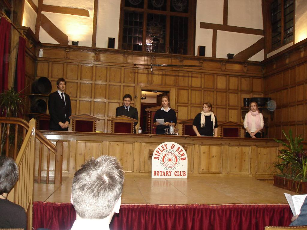 2006 Debatethon - Motion 1 - Royal Grammar School vs St Catherine's Bramley