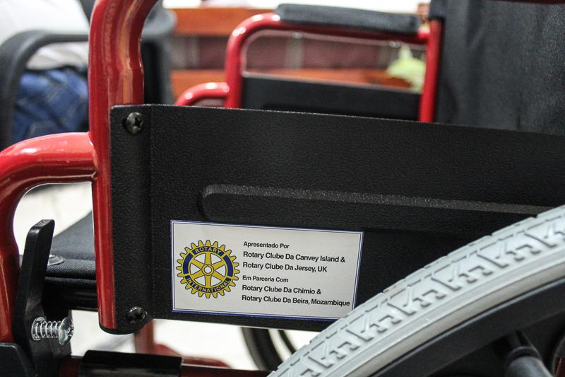 Wheelchairs in Mozambique - The four Rotary clubs involved