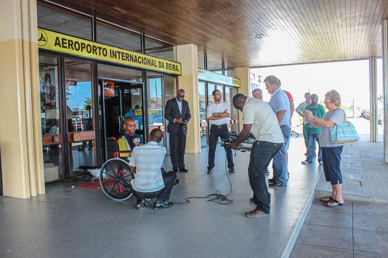 Wheelchairs in Mozambique - Publicity