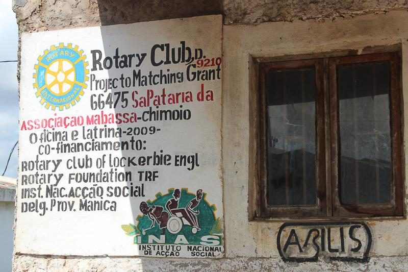 Wheelchairs in Mozambique - another Rotary project
