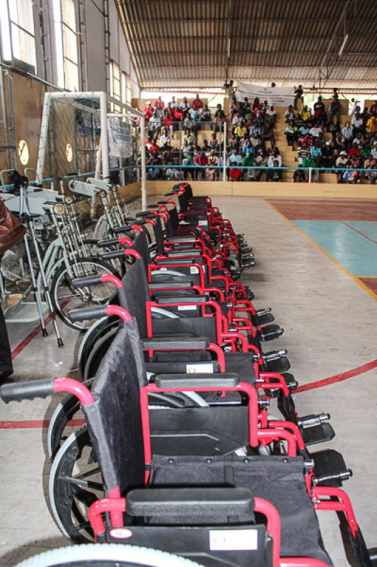 Wheelchairs in Mozambique - The new fleet ready to be put to use